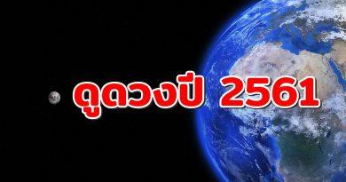 ดูดวงปี2561