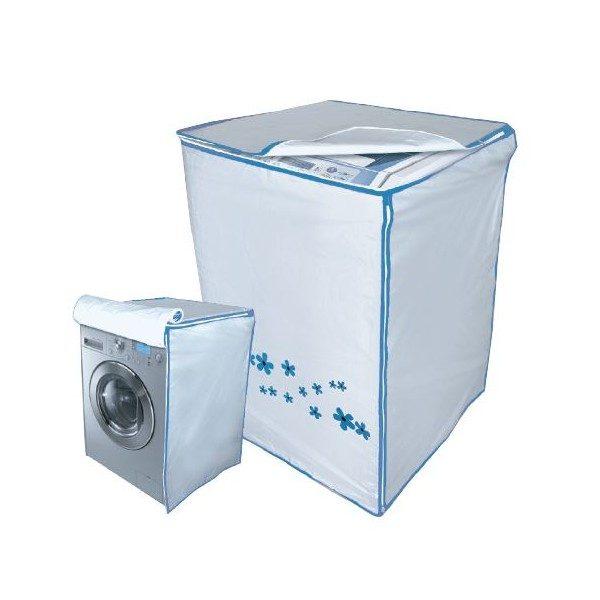 ผ้าซิลเวอร์โค้ทคลุมเครื่องซักผ้า ขนาด14กิโลกรัม สีฟ้า